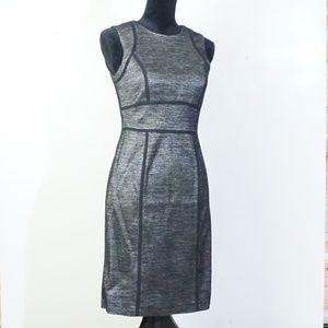 Sleeveless Ann Taylor Mid Length Wool Dress